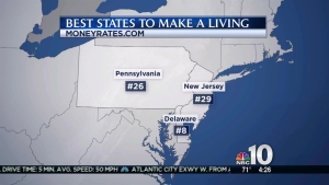 Delaware Ranks High in Best States to Earn Money