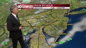 NBC10 First Alert Weather: Warm, Rainy Week