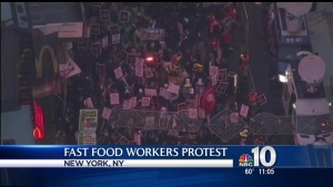 Fast Food Workers Fight for $15