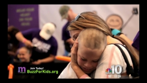 Buzz Off to Help Kids With Cancer
