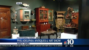 Antiques & Art Show Comes to the Philadelphia Navy Yard