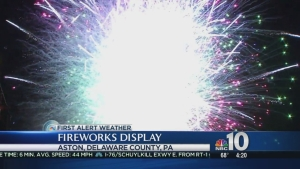 Town Finally Gets Its July 4th Fireworks