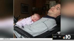 Quadriplegic Dad Writes Children's Book for Daughter