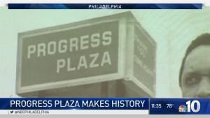 Philly's Progress Plaza Makes History