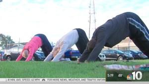 Yoga Helps Heal Inmates