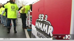 WMMR's Camp Out for Hunger in Full Force