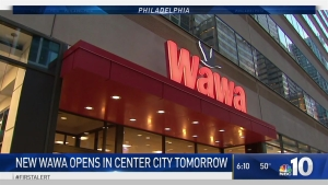 New Wawa Opens in Center City on Friday