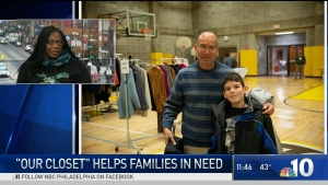 Our Closet Gives Clothing to Families in Need