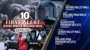 NBC10 Severe Winter Weather Week: Coming to a Mall Near You