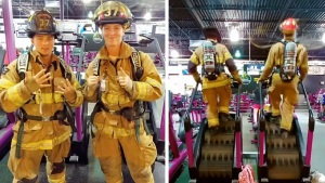 2 Montco Firefighters Honor 9/11 Heroes With Stair Climb