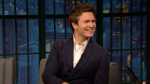 'Late Night': Ansel Elgort Kept the Car From 'Baby Driver'