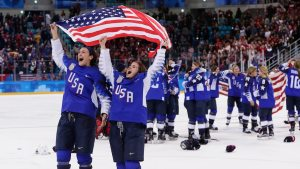 5 to Watch: U.S. Women's Hockey Strikes Gold