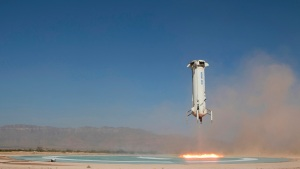 Jeff Bezos' Blue Origin Launches Spacecraft Higher Than Ever
