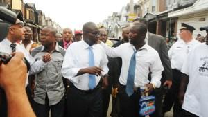 Liberian Ambassador Visits Fatal Fire Scene