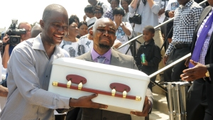 """4 """"Angels"""" Killed in Gesner Blaze Laid to Rest"""