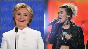 Cyrus To Campaign Door-to-Door for Hillary in Northern Va.