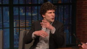 'Late Night': Jesse Eisenberg Talks Musical Theater