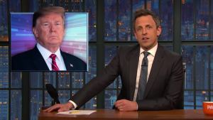 'Late Night': A Closer Look at Trump, Immigration
