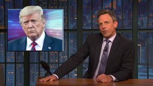 'Late Night': A Closer Look at Trump Threatening Iran