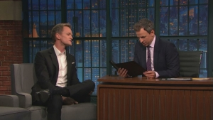 'Late Night': Neil Patrick Harris' Family Is Serious about Halloween