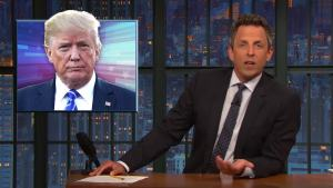 'Late Night': A Closer Look at Trump's Hurricane Comments