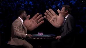 'Tonight': Slapjack Rematch With Kevin Hart
