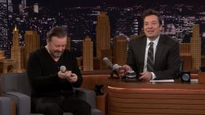 'Tonight': Singing in the Face With Ricky Gervais