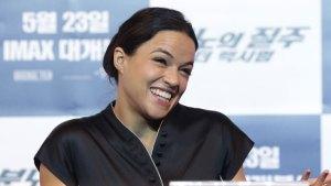 Michelle Rodriguez Sorry for White Superhero Remark