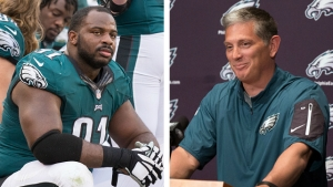 Jim Schwartz on Missing Fletcher Cox: 'He'll Catch Up'