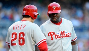 For Chase Utley and Ryan Howard, a Warming Trend