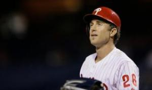 Sore Ankle Will Keep Chase Utley Out of Phillies' Lineup This Week