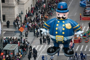 Celebratory Spirit Pumps up Macy's Thanksgiving Day Parade