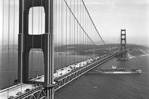 See It: San Francisco's Golden Gate Bridge 80 Years Ago