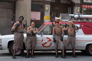 'Ghostbusters' Cast Surprises Kids at Hospital
