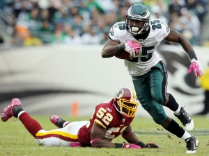 Is LeSean McCoy Progressing Faster Than Brian Westbrook?