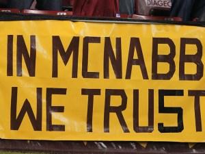 Redskins Take Little Time Slashing McNabb Jerseys in Time for Christmas