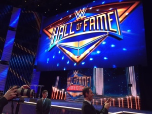 Fans Gear Up for WrestleMania With HOF Ceremony