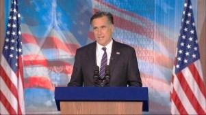 Romney: I Pray Obama Will Be Successful