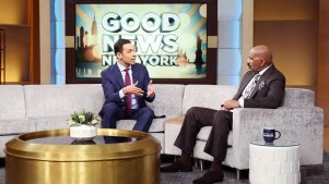 WNBC News Anchor Stefan Holt Visits Steve Harvey