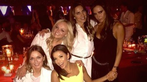 Spice Girls Reunion at Beckham's 40th Birthday Bash