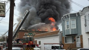 Massive Memorial Day Fire at Philly American Legion Post