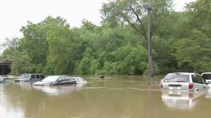 Flooding Causes Damage to Vehicles in Philadelphia Suburbs
