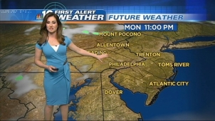 NBC10 Meteorologist Sheena Parveen's First Alert forecast for Monday, May 20, 2013.