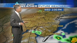 NBC10 Meteorologist Bill Henley has the forecast for today and your holiday weekend.