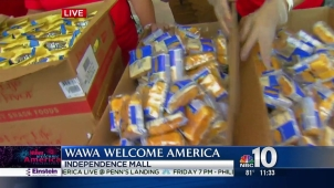 Wawa Welcome America! Continues with Hoagies, Music