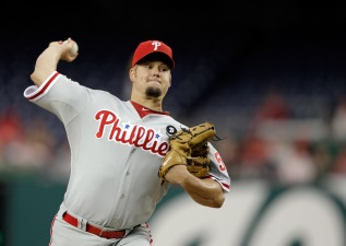 Blanton Strong, But Phils Drop One in Extras