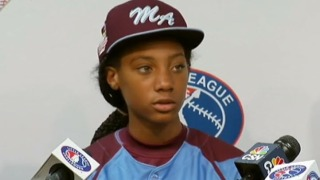 Mo'ne Davis & Her Jersey Head to Baseball Hall of Fame