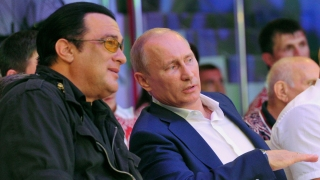Actor Steven Seagal Performs in Crimea: Report