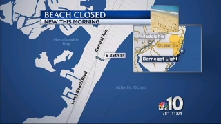 [PHI] Part of Jersey Shore Beach Closes