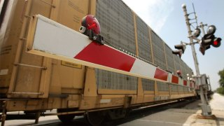 Freight Train Strikes Car Trying to Beat Train to New Jersey Intersection: Mayor